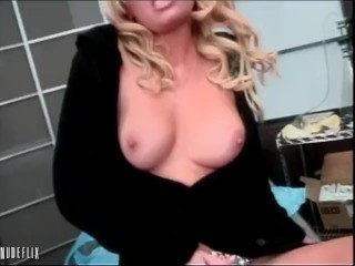 Holly Well in getting fucked by the janitor
