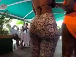 POV Ass Jiggling In Public…Must See So Damn Horny!