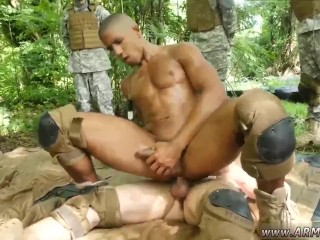 Nude men soldiers gay sex tube vids Jungle tear up fest
