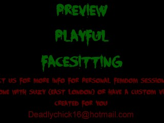 PREVIEW: Playful Facesitting