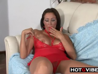 Latina Gets Anal And Facial Cumshot