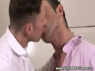 Eager gay hunks want cock in their mouths
