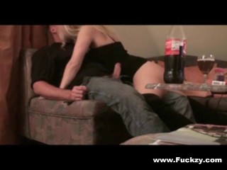 Dirty Blonde Slut Mom Fucked In Her Ass & Pussy