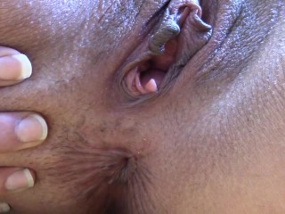 Extreme Closeup Anal Play