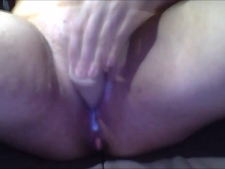 Chubby Girl With a Very Creamy Pussy Masturbating