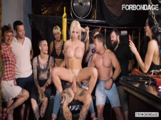 FORBONDAGE – Busty Blonde Enjoys Torture And Rough Sex