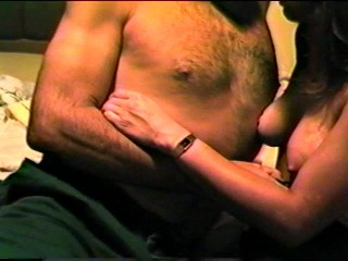 Teasing a very sexy woman . . .