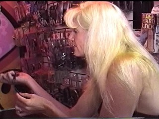 Girls at the adult store playing with the toys  PT.1/3