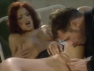 Hard anal red head delight!