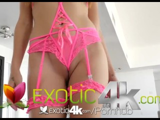 Exotic4k – Cock slips into latina Audrey Charlizes dripping pussy
