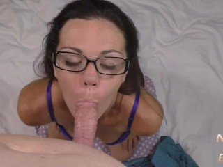 Tessa Is Very Quiet and Serious About Blowjobs