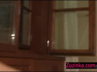 Zuzinka fake commercial, pussy included