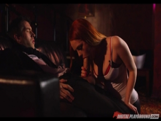 Ella Hughes rides on the monster dick of Danny D