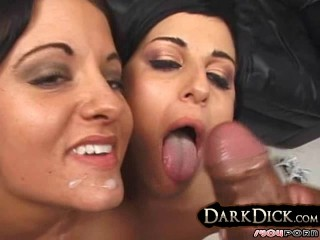 2 White Girls Pimped Out 4 Black Cock interracial