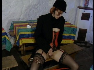 Squirming in her Saddle
