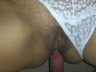MILF with hairy muff assfcuked