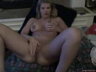 Amateur Blond Gets Cum On Her Face