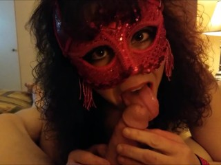 Devil inside her … comes out to play !