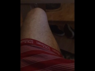 From soft to hard, cock play tease