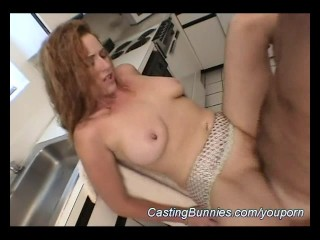 redhead anal casting