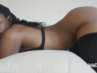 Ayla – Pillow Humping from Behind