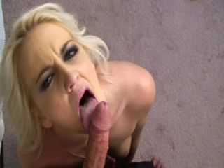 Juicy blonde chick punishes her horny neighbour with chastity devicy after they made love