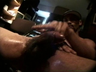 See How This Big-Black-Cock Cums