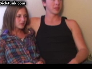 Creapy Old Guy has Threesome With Two Teens.flv