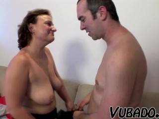Wet, dirty sex with younger man!