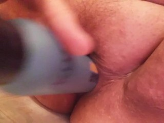 Insertion POV with squirting