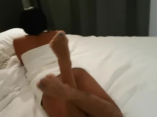 Blowjob and fuck fast in the shower