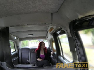 FakeTaxi Sexy redhead with huge tits