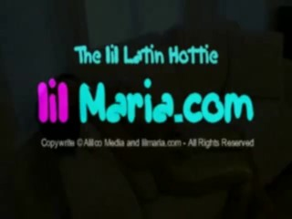 Latin chick dances and strips