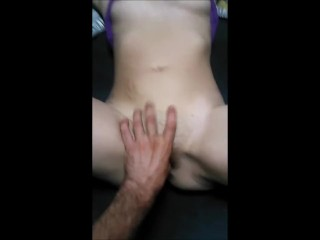 Perky Teen Getting her Pussy Pleased