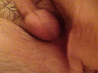 Solo male fingers ass and cums time!