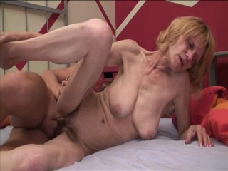 Granny gets fucked deep – Intense Industries