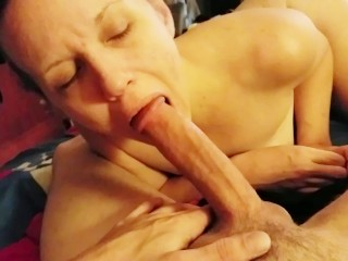 Rough Throat Fuck Gagging Swallow Big Cock Slutty Milf Big Ass PAWG