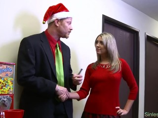 Blonde plays with dirty teacher