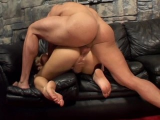 This blonde is begging for cock deep in her ass