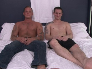 ActiveDuty Recruit Zack's First Soldier Cock