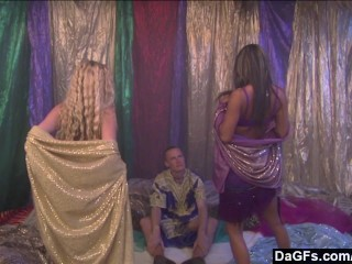 Dagfs – Babes Have a Threesome with a Prince