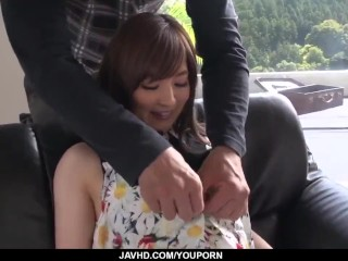 Saya Niiyama plays naughty with cock in complete XXX – More at 69avs.com