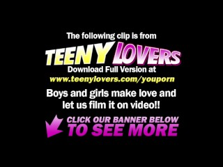 Teeny Lovers – Bisex teens ride face and cock