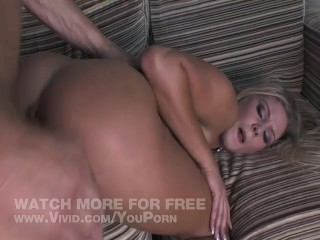 Pierced Blonde Gets Ass Licked And Pounds Cock