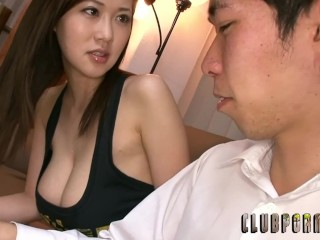 Sayuki Kanno in Big Tits Braless Wife Temptation
