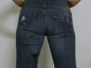 Piss Wetting Jeans