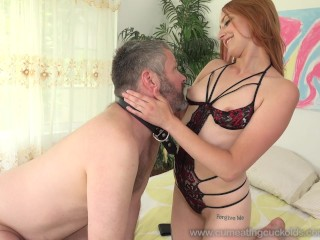 Rococo Royalle Fucks Husbands Ass and Has Him Suck Cock