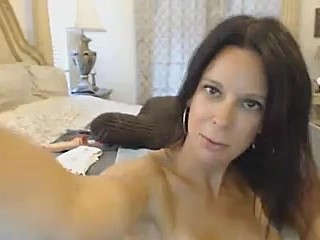Young Hot MILF Fucks Her Pussy Hardcore