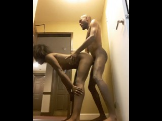 Training of a public agent (Hotel Sex With Door Open)
