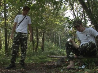 2 twinks making love in the forest – Scene 1 – Rainbow Media